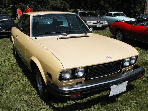 A 1975 Fiat 124 Sport Coupe.