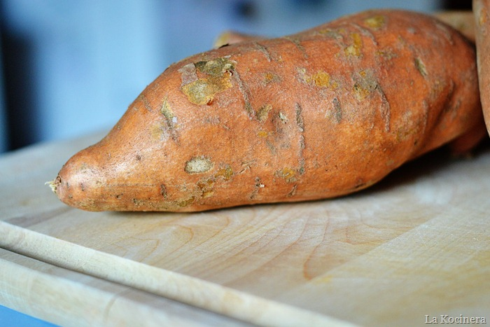 whole sweet potato