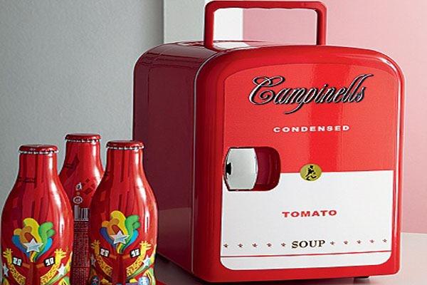 tomato-soup campbell's-mini-geladeira