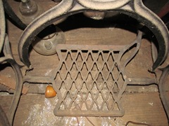 old singer sewing machine foot treadle