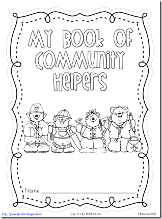 Growing Kinders: Community Helpers Bubble Maps