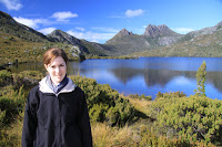 Mel at Cradle mountain