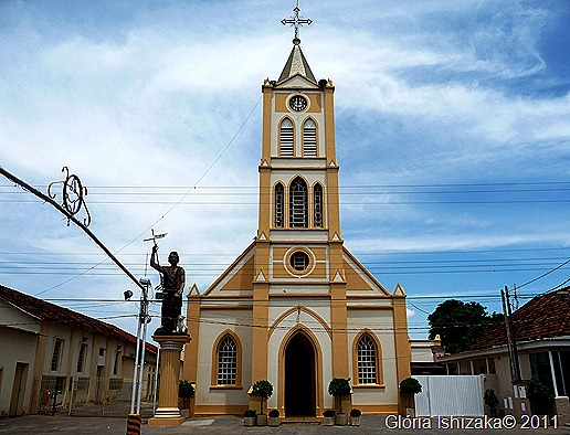 Glória Ishizaka - Guaiçara -  igreja matriz de são joão batista 1