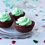 Mint-Cream-Cheese-Brownie-Bites