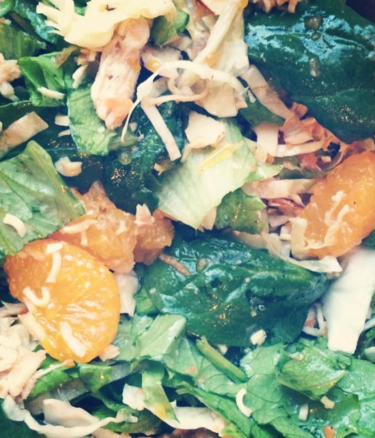 Homemade Chinese Chicken Salad