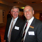 David Hassell and Head of Preparatory School, Neil Andary