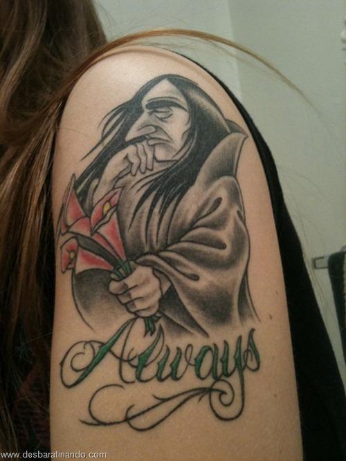 tatuagens harry potter tattoo reliqueas da morte bruxos fan desbaratinando (26)