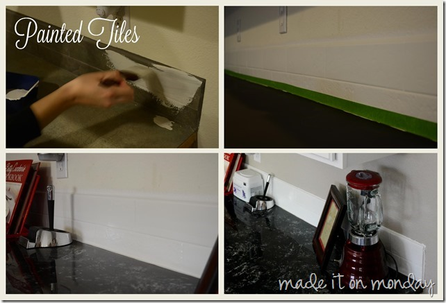 Kitchen Makeover @ Made it on Monday
