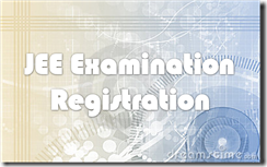 JEE Examination Registration 2013