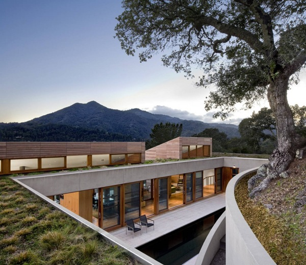 Casa Kentfield Hillside  Arquitectos Turnbull Griffin Haesloop