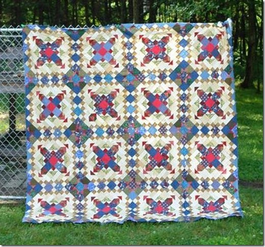 Easy Stree Mystery Quilt December 2012