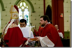 Ordination of 14 deacons on June 12, 2011