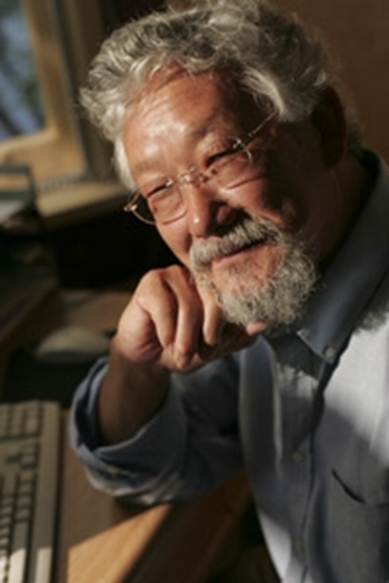 David Suzuki, Co-Founder of the David Suzuki Foundation, is an award-winning scientist, environmentalist, and broadcaster. He is renowned for his radio and television programs that explain the complexities of the natural sciences in a compelling, easily understood way. Photo: David Suzuki Foundation