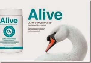 Alive™ Концентрированное средство для отбеливания и удаления стойких загрязнений