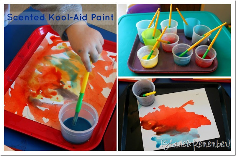 Scented Paint Kool-Aid Paint Preschool Scented Paint