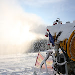 Arbeiten Slalomhang 15.01.2013