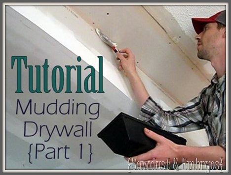 Mudding Drywall (Part 1)