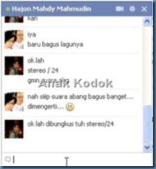 Chat bareng Mahdy