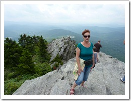 Grandfather Mtn NC-on top