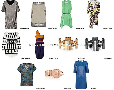 THE OUTNET SALE CLEARANCE 2013 DESIGNER FASHION APPARELS ACCESSORIES BAGS SHOES OFFERS NET A PORTER Spring Summer Autumn Winter Collection fashions, Must-have shoes, coveted handbags, style defining delivery shipping