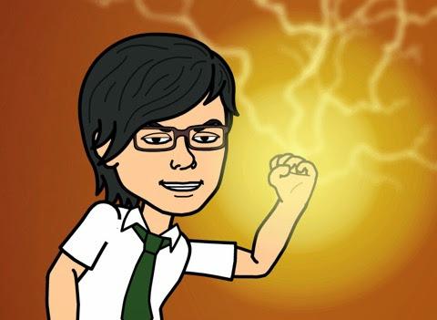 腕に自信ありのBitstrips自画像
