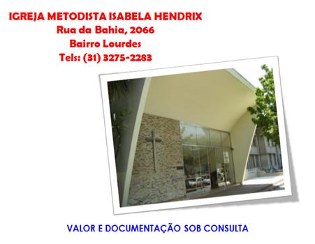 GUIA - EVANGELICA - METODISTA ISABELA HENDRIX