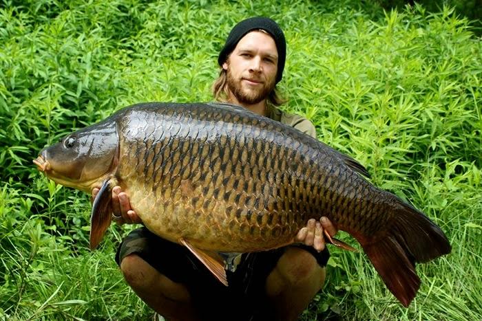 Alex and big fish