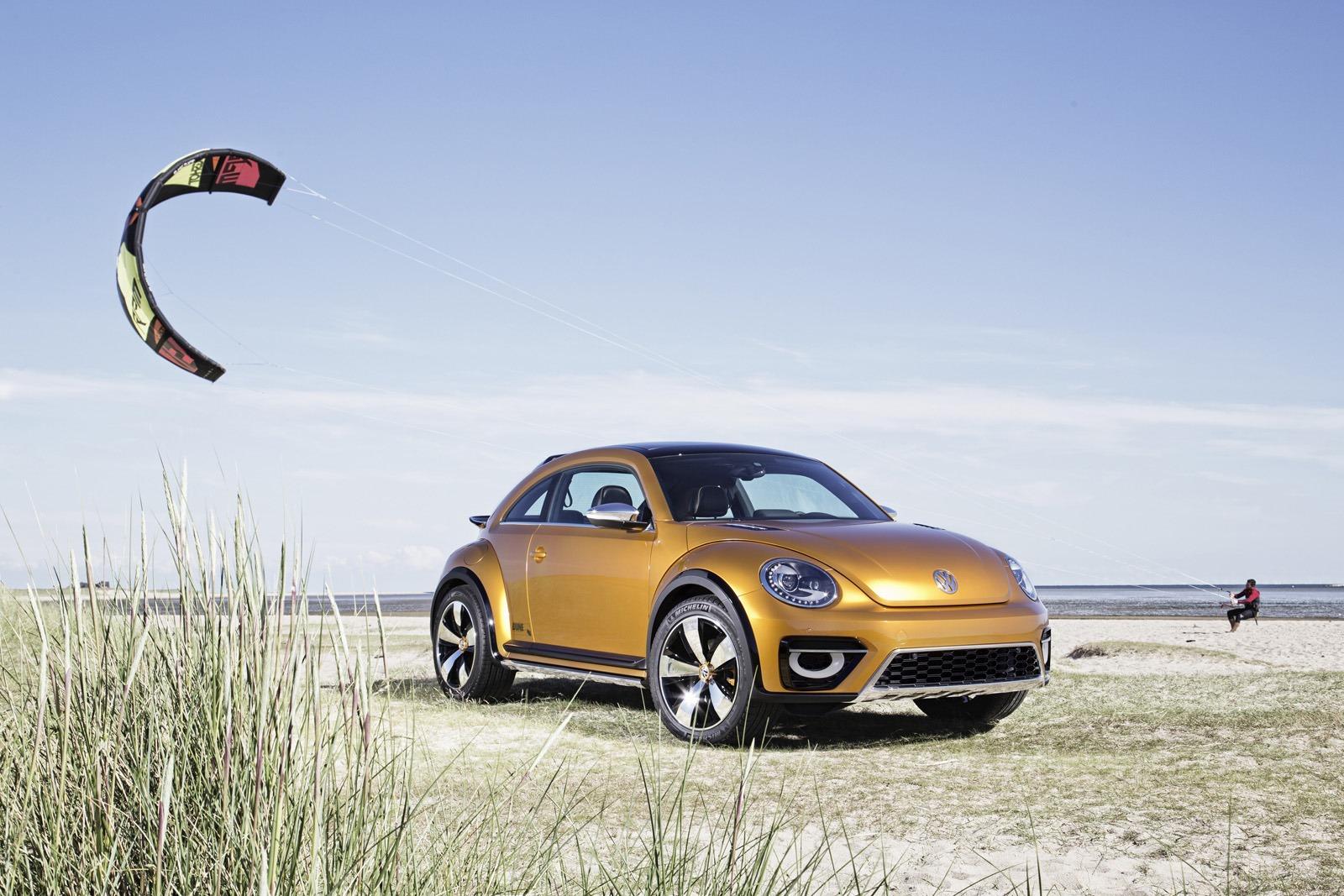 Volkswagen Beetle Dune Concept 2014 года