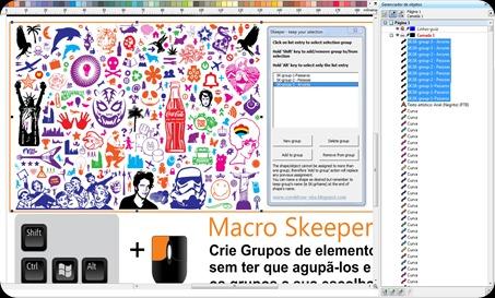 SKeeper Macro CorelDraw