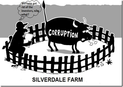 corruption bull