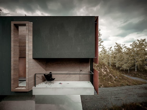 house for a photographer by hyde   hyde architects 4