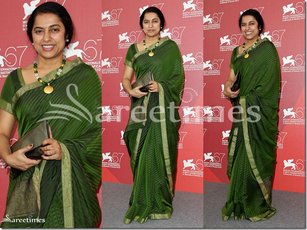 Suhasini_Green_Saree