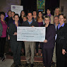 Putnam/Northern Westchester Womens Resource Center Go Purple Check Presentation