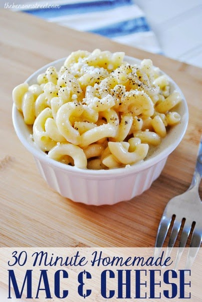 The Benson Stree 30 minute homemade Mac  Cheese