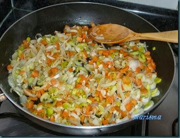 patatas rellenas de verduras y trompetas de la muerte3 copia