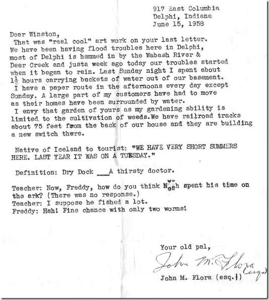 winston letter