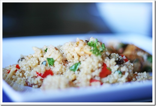 Apricot and Almond Quinoa Salad