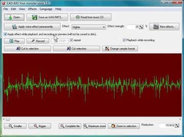 Voice Change Software with Crazy Voice Effects