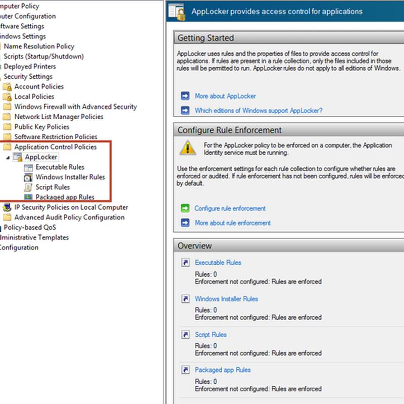 Malware Proof your Windows Installations