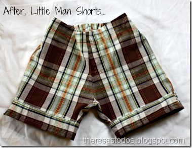 After, Little Man Shorts
