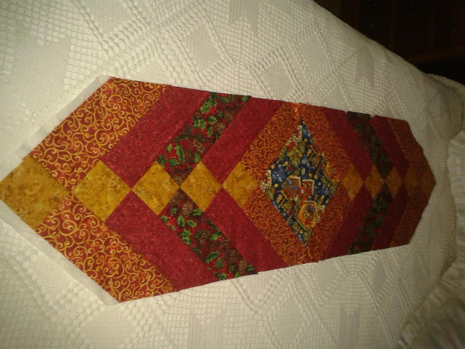 Mi rinc n de patchwork se acerca la navidad - Camino mesa patchwork ...