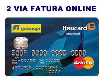 2Via-fatura-cartao-ipiranga-itaucard-online-www.mundoaki.org
