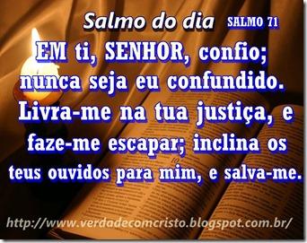 SALMO DO DIA 71