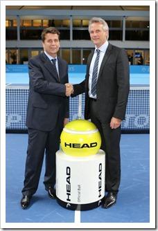 HEAD y la ATP extienden su acuerdo hasta 2017. Seguirá siendo pelota oficial del circuito
