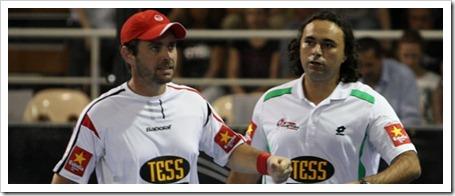 Díaz y Muñoz completan el cuadro masculino del Máster Estrella Damm Pádel Pro Tour 2011
