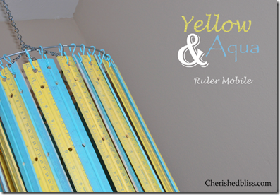 Ruler Mobile Yellow Aqua