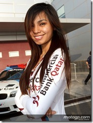 Paddock Girls Commercialbank Grand Prix of Qatar  08 April  2012 Losail Circuit  Qatar (19)