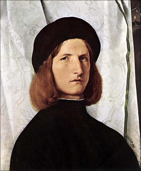 Lotto, Portrait de jeune homme