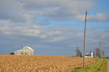 """Church and Barn, Indiana"" - copyright David Thompson"