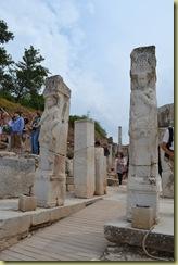 Ephesus Curetes Street Heracles gate posts